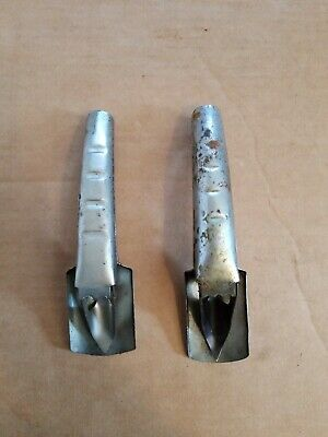 Vintage Self Piercing Can Spouts For Oil Cans LOT OF 2