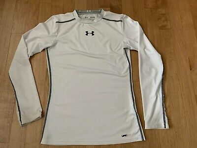 4336eba8ec13 UNDER ARMOUR YOUTH Heat Gear Fitted Long Sleeve Compression Shirt ...