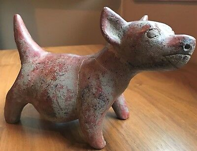 COLIMA  Pottery Dog Figure, Precolumbian, VERY FINE