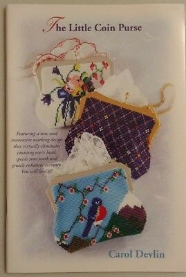 The Little Coin Purse by Carol Devlin,  Beaded Coin Purse Designs, 32 pages