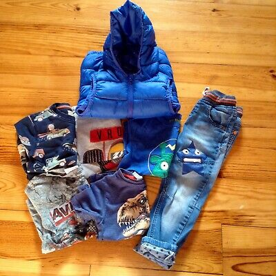 Mix And Match Clothes Bundle 2-3 Year Old Boy - Mostly Next