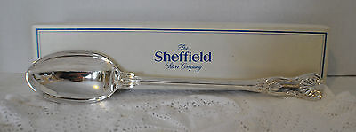 Large  Silverplate Serving Spoon ~The Sheffield Silver Company~Made In Italy