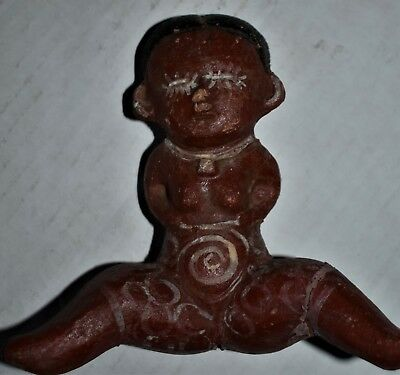 "Orig $399. Pre Columbian Nayarit Chinesco Figure 5"" Provenance"