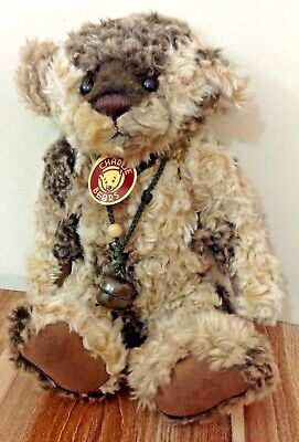 Charlie bears squidge-cheeky plush bear from 2011 retired rare &vhtf