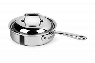 All-Clad  D7  SS 7-Ply Bonded Construction 2-Qt  Saute Pan with Dome Lid