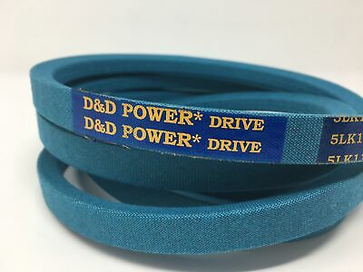 D/&D PowerDrive 5LK1460 or  B143K made with Kevlar V Belt Vbelt