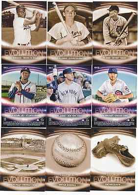 2019 Topps Series 1 EVOLUTION OF GAME Insert - U Pick Choose Complete Your Set