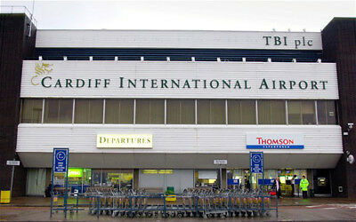cardiff airport parking £35 per week free transfers