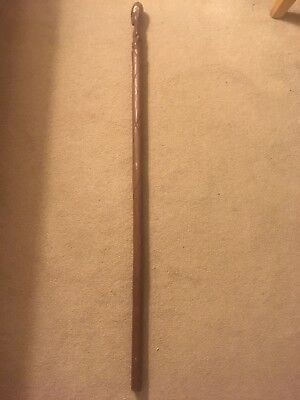 African Style Wooden  Walking Stick