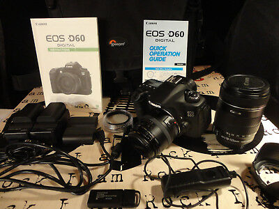 Canon EOS Canon EOS 60D 18.0MP Digital SLR Camera - Black (Kit w/ EF-S IS 18-135