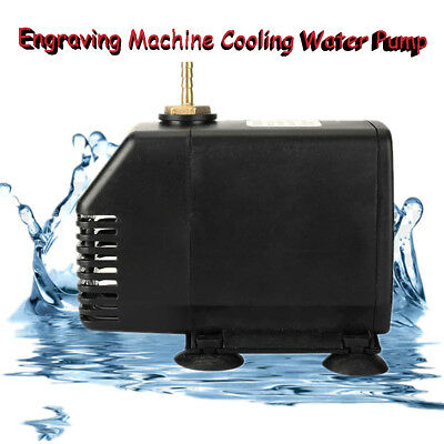 75W Engraving Machine Cooling Water Pump 3500L/H For CNC Spindle Motor