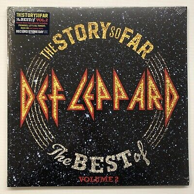 DEF LEPPARD The Story So Far The Best Of Vol. 2 RSD2019 UK 12' 2xLP Vinyl NEW
