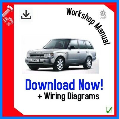 WORKSHOP SERVICE REPAIR MANUAL 2002-2006 VOGUE RANGE ROVER L322