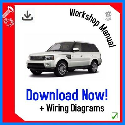 Range Rover Sport Workshop Service Repair Manual 2005 - 2012 DOWNLOAD