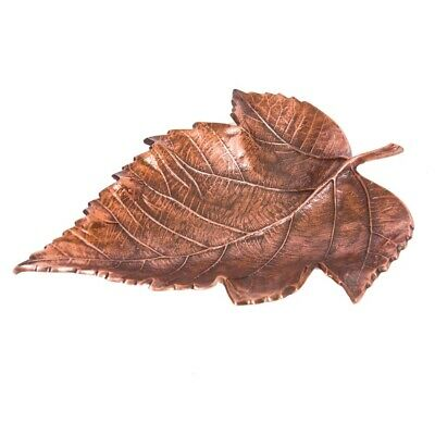 MAPLE Large 43cm Long Decorative Leaf - Antique Copper