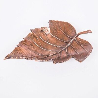 MAPLE Medium 34cm Long Decorative Leaf - Antique Copper