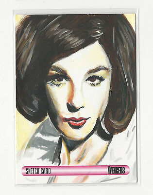 2014 Unstoppable Women of The Avengers Sketch Card by Solly Mohamed 1/1 WOW