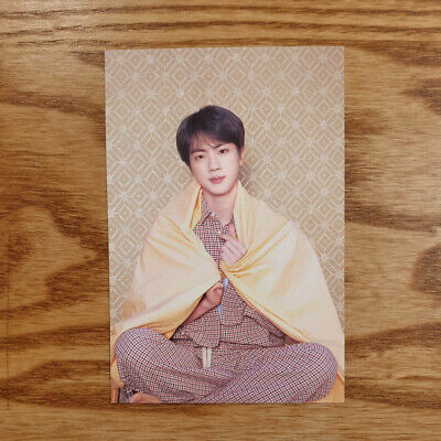 Jin Official Postcard BTS Map Of The Soul : Persona Genuine Kpop