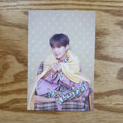 Suga Official Postcard BTS Map Of The Soul : Persona Genuine Kpop