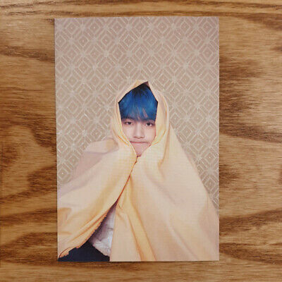V Official Postcard BTS Map Of The Soul : Persona Taehyung Genuine Kpop