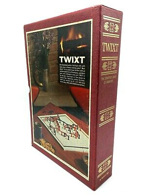 TWIXT vintage 1962 3M Bookshelf Game : Tactical Strategy Game for Two - COMPLETE