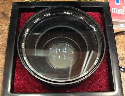 45mm 0.42X Pro Digital Wide Angle AF Lens Macro Japan for Canon Nikon Sony New