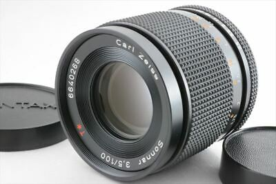 [Excellent] Contax Carl Zeiss Sonnar T* 100mm f/3.5 AEJ for C/Y mount (220-K488)