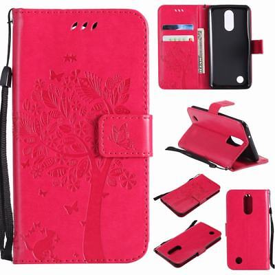 FOR LG REBEL 4G LTE L44VL Premium Leather Wallet Case Pouch