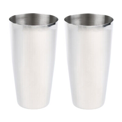 2 Pieces/Set Milkshake Cup, Cocktail Mixing Cup, Blender Cup for Hotel/Bar