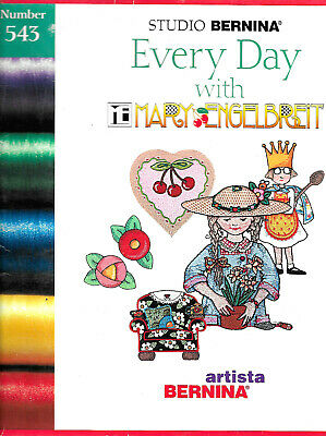 EVERY DAY - MARY ENGELBREIT #543 Embroidery Card for Artista 160 175 180 200 700