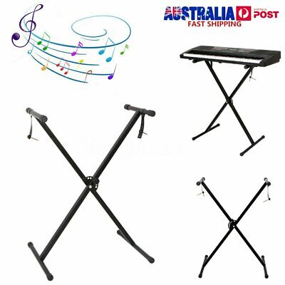 Heavy Duty Portable Universal X Frame Folding Keyboard Stand Height
