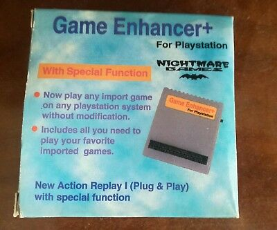 accessori playstation: Action Replay , Game Enhancer+