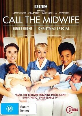 Call The Midwife : Series 8 And The Christmas Special (DVD, 2019, 3-Disc Set)
