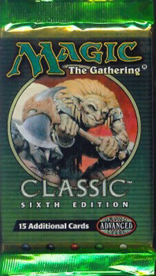 6th Edition Booster Pack (ENGLISH) FACTORY SEALED BRAND NEW MAGIC MTG ABUGames
