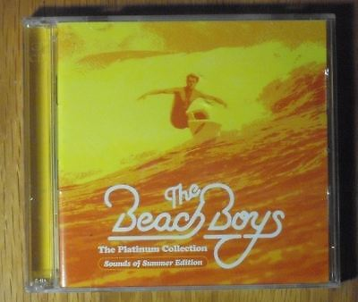 Beach Boys The Platinum Collection Thai Promo 3 CD Excellent OOP 60 Tracks
