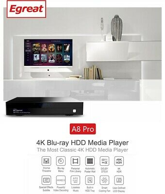 EGREAT A8 ULTRA-HD 4K HDR Android Media Box - EUR 200,55