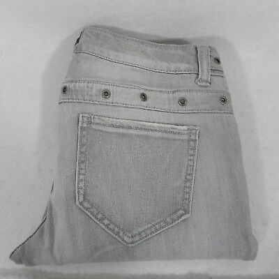 Mossimo Supply Womens Jeans Gray Skinny Rocker Pants Size 5
