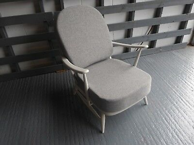 Cushions & Covers Only. Ercol 203 Chair. Light Grey Stitch Camira FL832 Redoubt