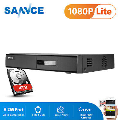 SANNCE 16CH/ 8CH/ 4CH HD 1080P DVR 5IN1 Video Recorder for CCTV Security System