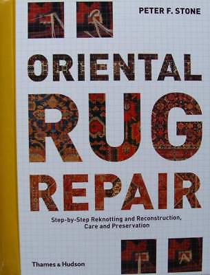 BOEK/LIVRE : Oriental Rug Repair - step-by-step (oosters tapijt,carpet)