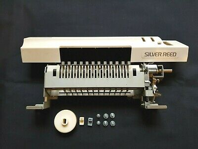 Silver Reed Knitmaster Knitting Machine Sk155 Punch Card Unit And Panel + Screws
