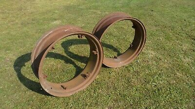 "Ferguson TE 20 28"" Rear Wheel Rims (No Centres)"