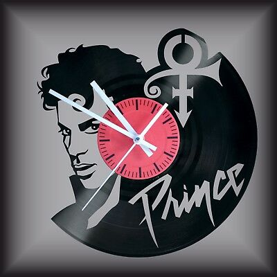 Reloj disco de vinilo LP Regalo original cumpleaños Prince Pop Rock