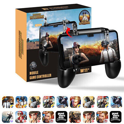 W11+ PUBG Mobile Gamepad Remote Controller Wireless Joystick for iPhone Android