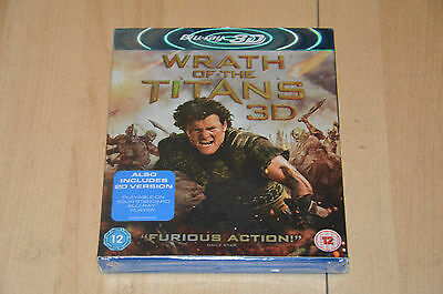 Coffret Bluray Wrath of the TITANS 3D - Neuf sous blister