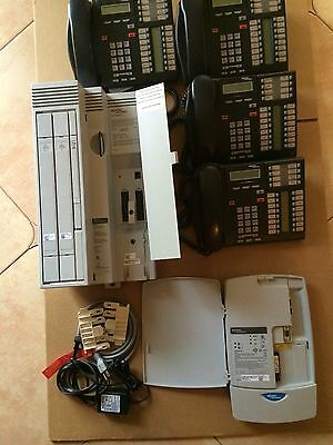 Nortel Norstar CICS 8X24 Capacity System with Voicemail and phones Caller ID