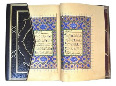 1480 Facsimile Handwritten Arabic Islamic Manuscript Quran Koran book no antique