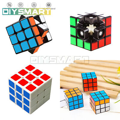 Fun Original Rubiks Cube Toy Rubix Mind Game Classic Magic Rubic Puzzle 3x3x3 AU