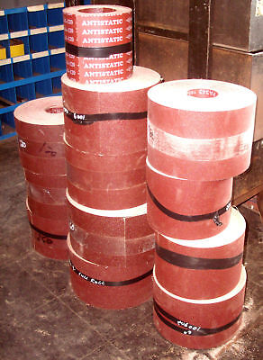 """3"""" Wide X 50' Sandpaper Roll For Sanders 80 Grit Multi Roll Deals Available!"""