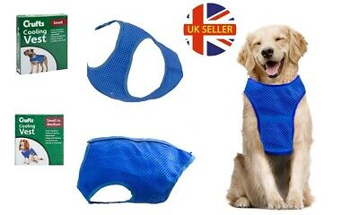 CRUFTS Breathable Pet Dog Cooling Vest Sunscreen Comfortable Clothing Jacket